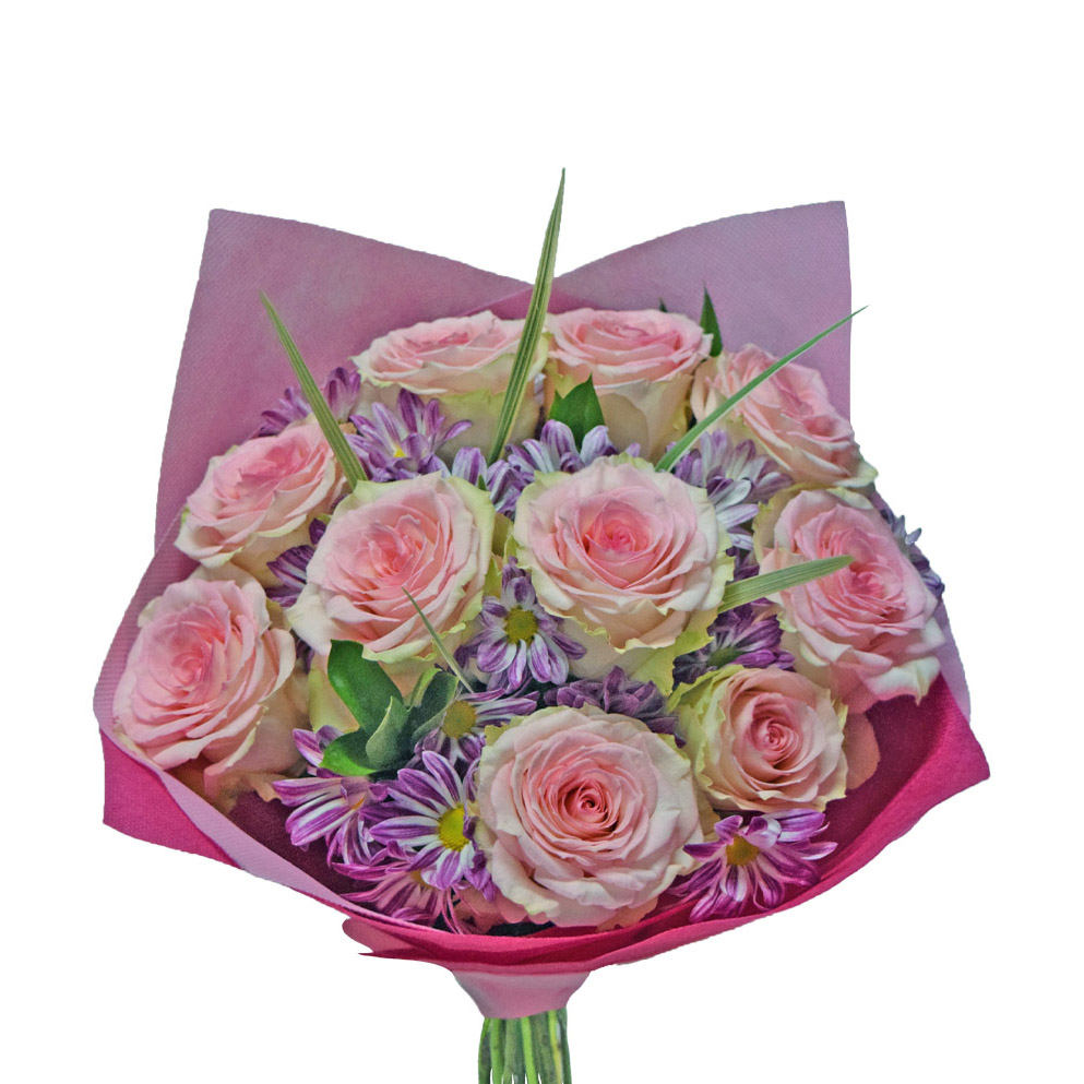 Bunch of love bouquet front