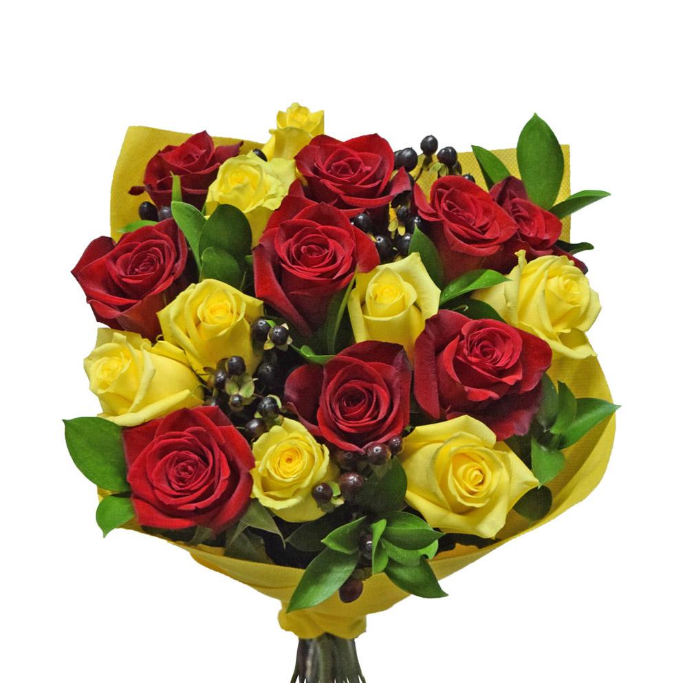 Color full bouquet front